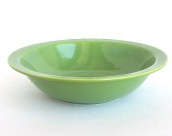 Hollywood Craftsmen - Green Serving Bowl NASCO