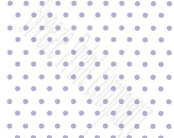 White with lavender polka dots craft  vinyl sheet - HTV or Adhesive Vinyl -  polka dot pattern   HTV34