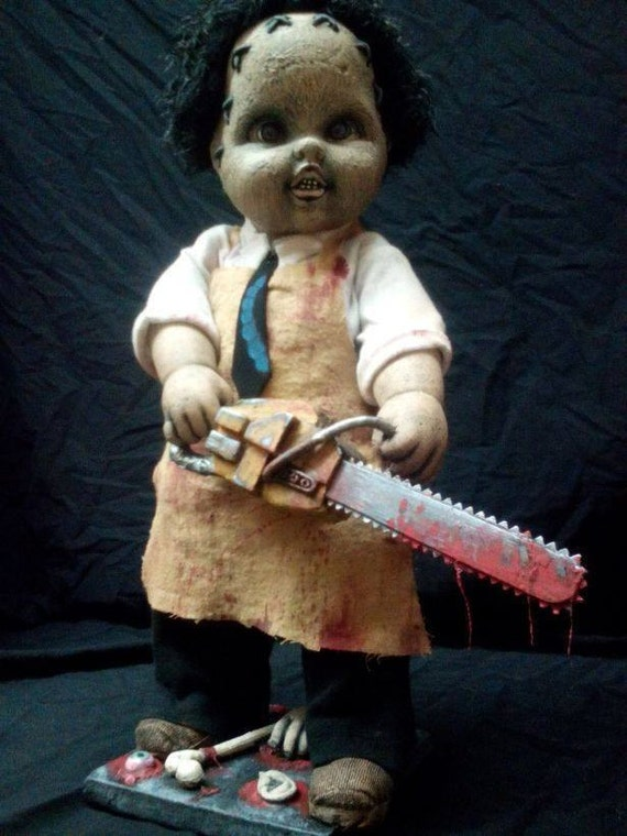 Items similar to lil leatherface texas chainsaw massacre