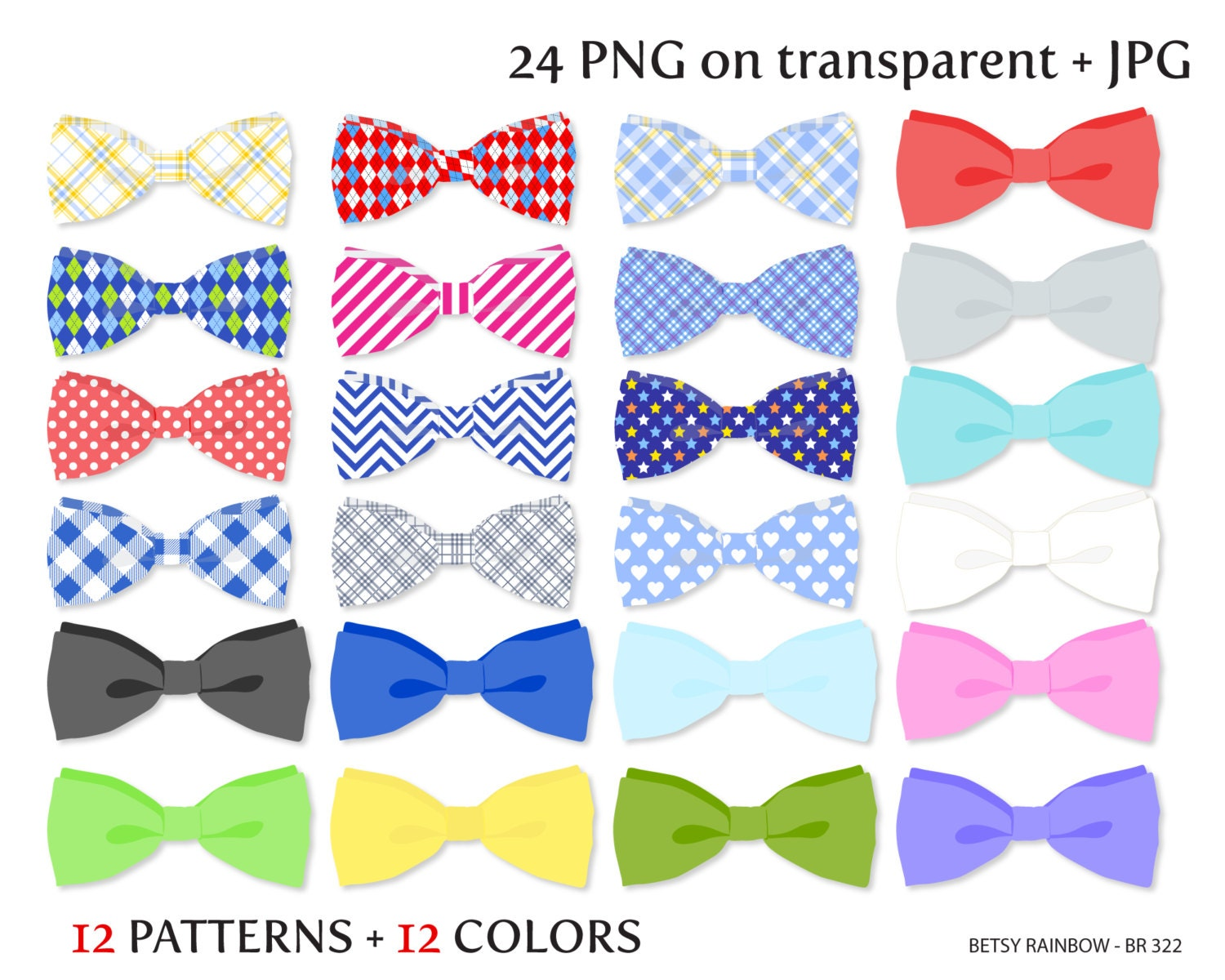 Yellow Bow Png Bow Tie Clipart Png And Jpg