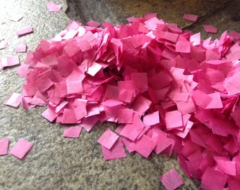 Hot Pink Wedding Confetti / Tissue Paper / Biodegradable / Decorations / Bridal Shower Decor