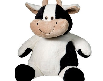 Personalized Stuffed Animal-Cow
