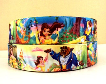 5 YDS Beauty and the Beast Ribbon