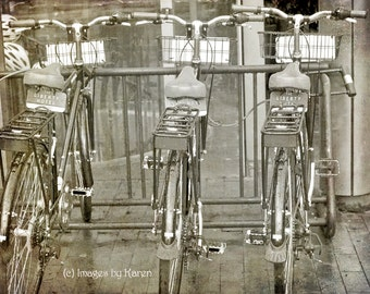 Vintage Photography, Fine Art Photography-Liberty Bikes