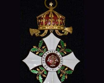 Bulgarian Order of Merit - Kings Type      RARE