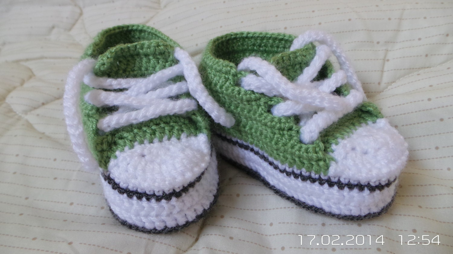 Baby Crochet Converse Sneakers Crochet Baby Booties For Boy