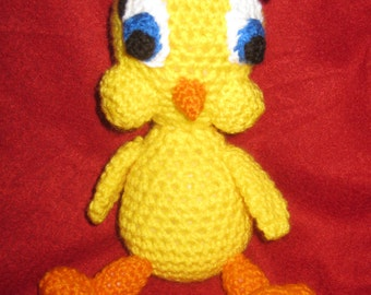 Amigurumi Tweety Bird : Popular items for bird amigurumi on Etsy