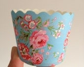 50PCS NEW ARRIVAL ClaSsic Floral Paper Baking Cups,Cup Cake Cups,Muffin,Candy Cup,Ice cream Treat Dessert Portion Cups