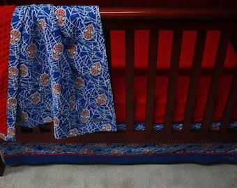 Marvel Avengers Baby Beddingthe Hulkcustom Crib By Bedhogshop