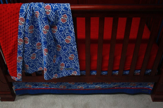 Marvel Avengers Baby Beddingspidermancustom Crib By Bedhogshop