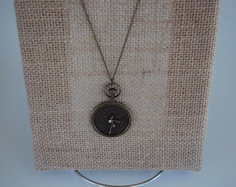 Pocket Watch Pendant Necklace
