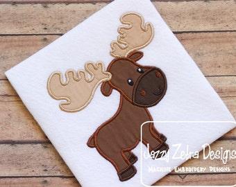 Moose Applique Design