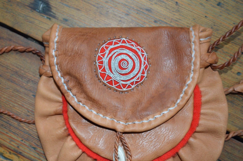 Saami. Sami bag traditional folk costumu bag. cross body