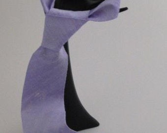 Pure Silk, Shantung, Lilac, Tie