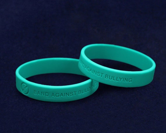 anti bullying silicone bracelets 50 by