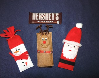 Christmas Candy Bar Covers