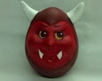 "Ceramic Devil ""Eggs-Pression"""