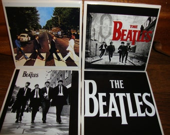 The Beatles Coasters (set of 4)