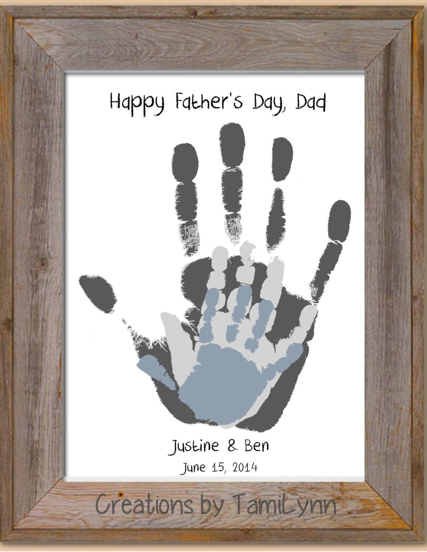 Parent grandparent child handprint art by creationsbytamilynn - Eltern weihnachtsgeschenke ...