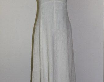 vintage sisa prairie hippie wedding dress summer festival dress