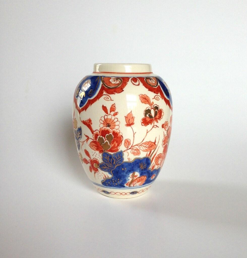 Vintage Porceleyne Fles Delft Holland Imari Pijnacker Pynacker