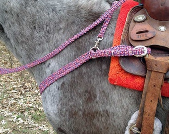 Horse tack paracord etsy for Paracord horse bridle