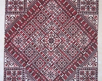 Shades of Red PDF Chart by Northern Expressions Needlework