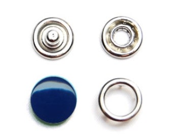 25 sets Blue Navy 12 (8,5mm) Snap Fasteners