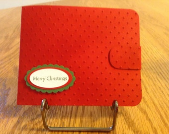 Christmas Wallet Gift Card Holder