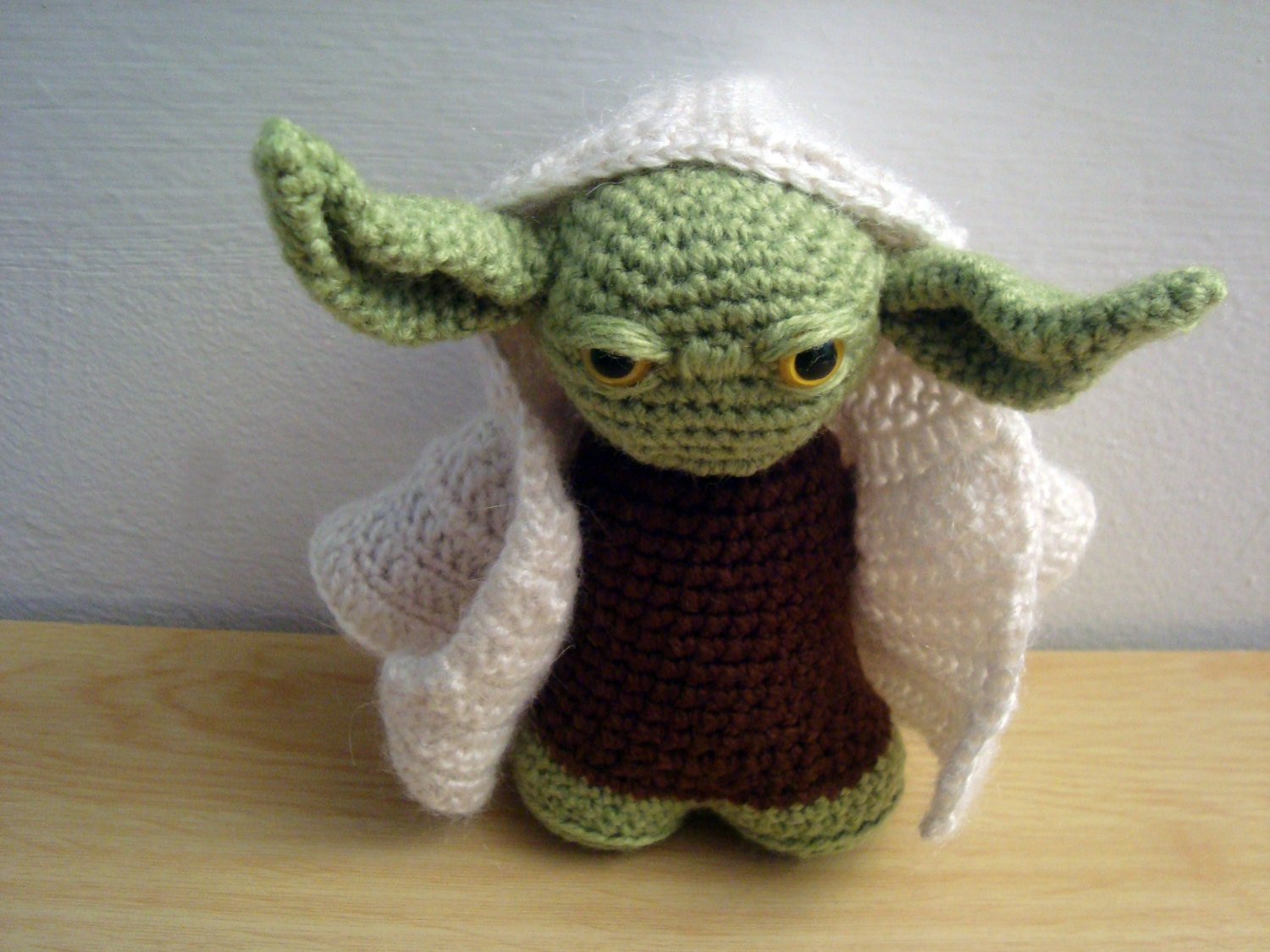 Amigurumi Sewing Machine Pattern : YODA Amigurumi Star Wars