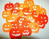 22 Die Cut Pumpkins for Halloween or Fall