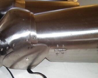SCA, Adria, LARP 14c style Leg Armor
