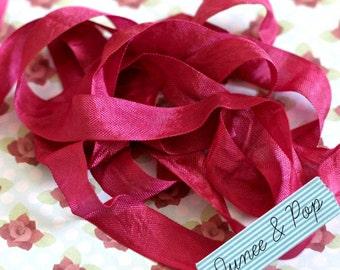 Fuschia Seam Binding Ribbon 5 metres