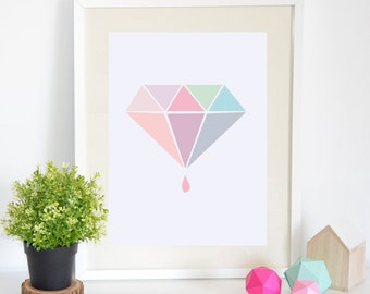 Sales -25% Art Print Diamond