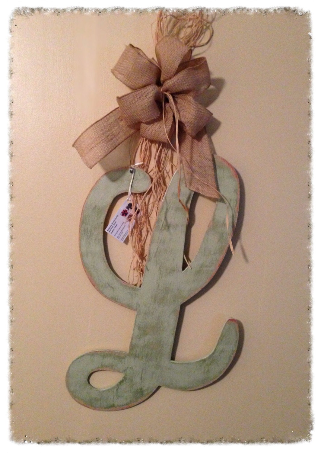 initial letter door hanger wooden door decor letter l door With letter hangers