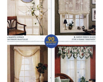 McCall's Sewing Pattern 2613 Window Treatments