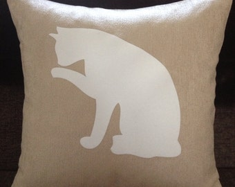Personalised Cat Cushion