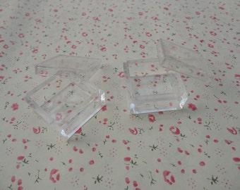 20 PCS 30mmx30mmx15mm-Small Clear Plastic Boxes, Display Boxes, Clear Display Cases,Transparent plastic box