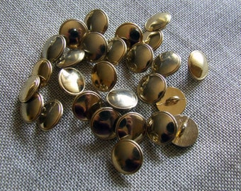 Rain of small buttons vintage metal