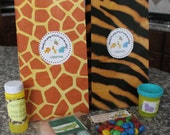 Jungle/Safari Customized Birthday COMPLETE Favor