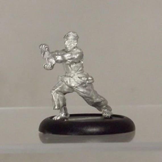 Modern Miniature - Black Belt Karate Dude - 28mm Unpainted - WF08
