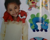 Simplicity 0940 Child's Animal Neck Pillows Sewing Pattern New/Uncut