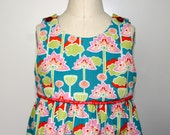 Candy Shop Stop - 100% GOTS Certified Organic Cotton Dress; Keep cool and cute on an afternoon out!