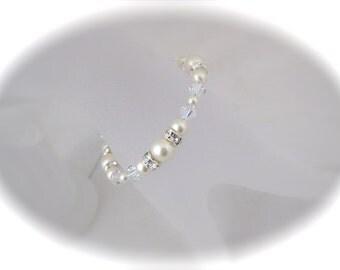 Wedding Jewelry Ivory Pearl Bridal Bracelet Pearl Jewelry
