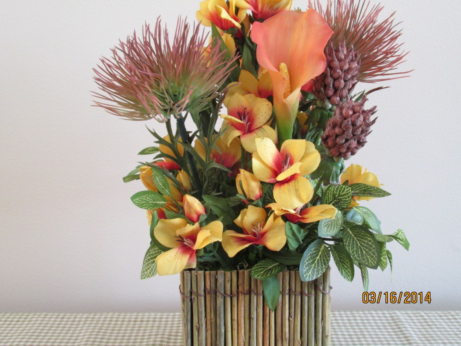 flowers centerpieces tropical flower