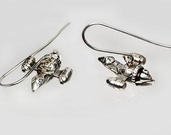Firefly Silver Earrings