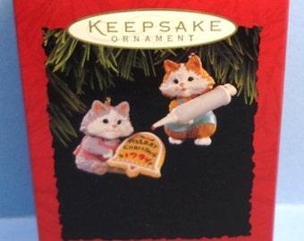 1994 Sweet Greeting Hallmark Ornaments
