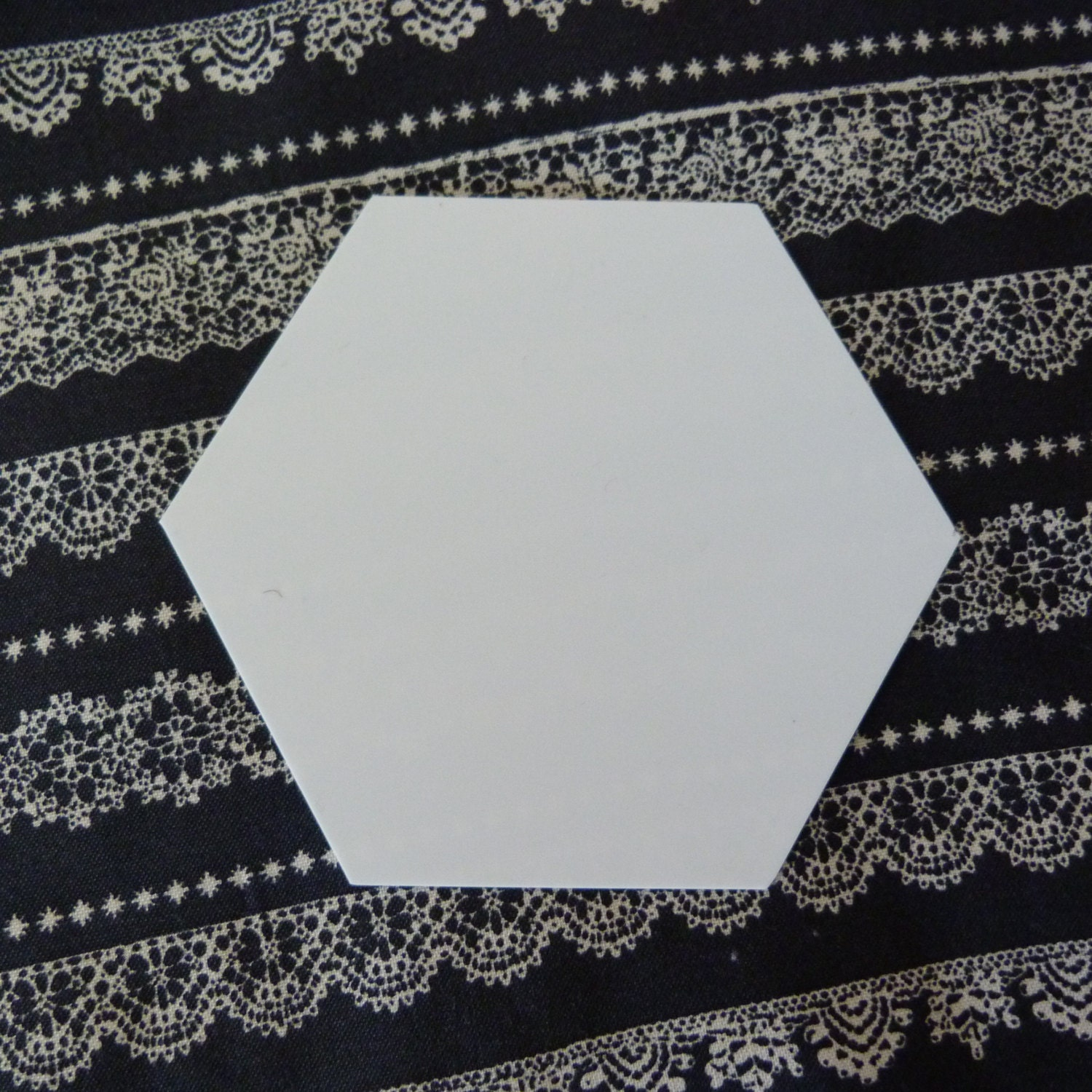 plastic hexagon quilt template for english paper piecing and With hexagon quilt template plastic
