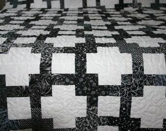 """Patchwork Quilt """"Pixels Quilt"""""""
