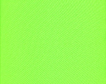 5 Yard/Meter Matte Stretch Fabric - Neon Lime Fabric, Four way Stretch Spandex Fabric by the Yard Item# RXPN-FDT3288